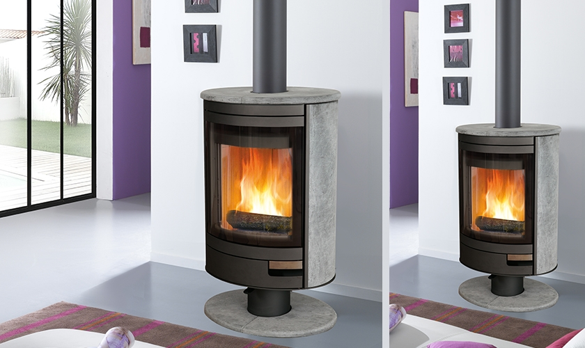 po le bois solveig pierre ollaire 9 kw turbo fonte. Black Bedroom Furniture Sets. Home Design Ideas