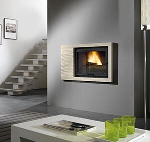cheminée design ariel