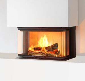 Insert à bois SIGMA 102 3 V côtés vitrés